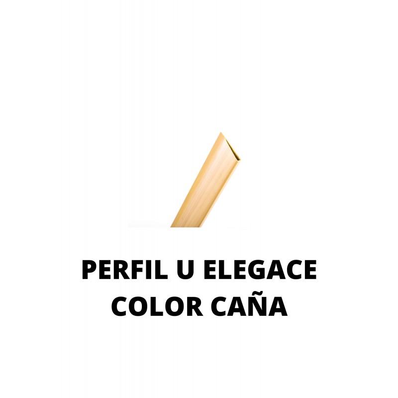 PERFIL U  ELEGANCE 45 mm x 2 m